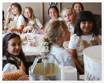 A picture of children at a Kilwins event