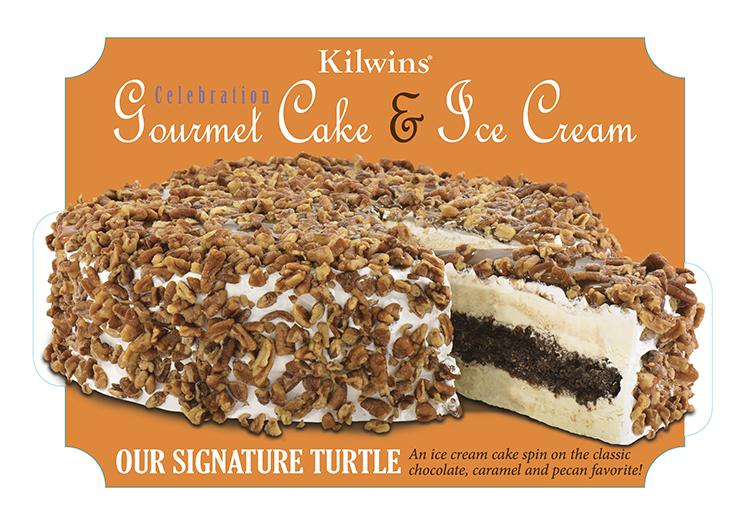 Photo of Our Signature Turtle Ice Cream Cake