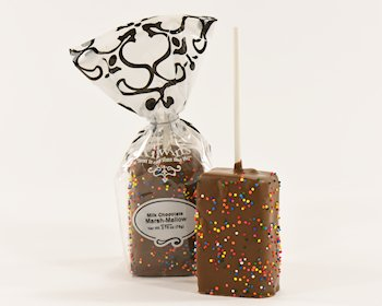 Sprinkled Milk Chocolate Marsh-Mallow (Seasonally Themed)