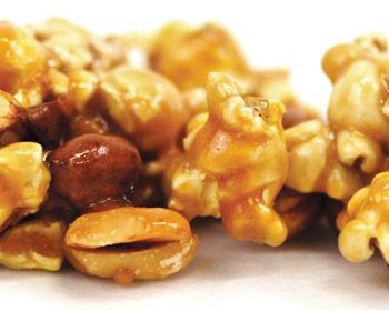 Peanut Caramel Corn