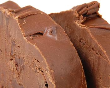 Chocolate Raspberry Truffle Fudge   Kilwins