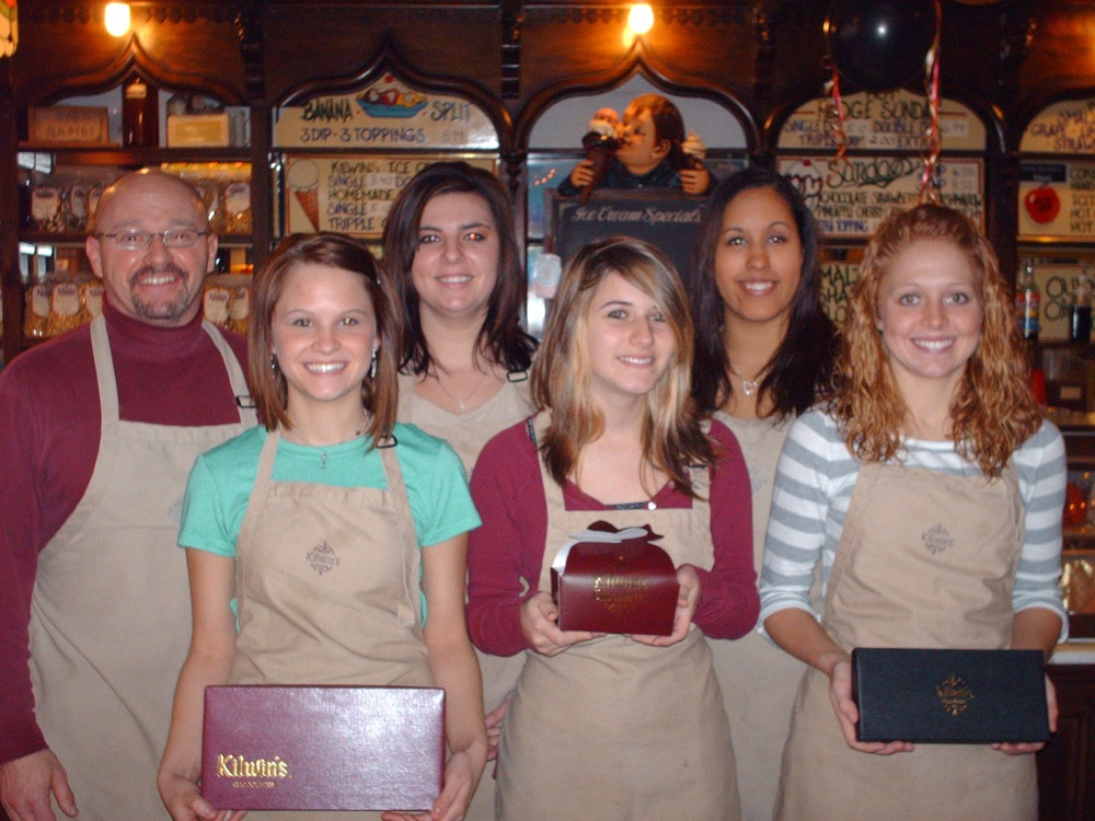 Photo of the owner and Team Members of Kilwins Big Rapids