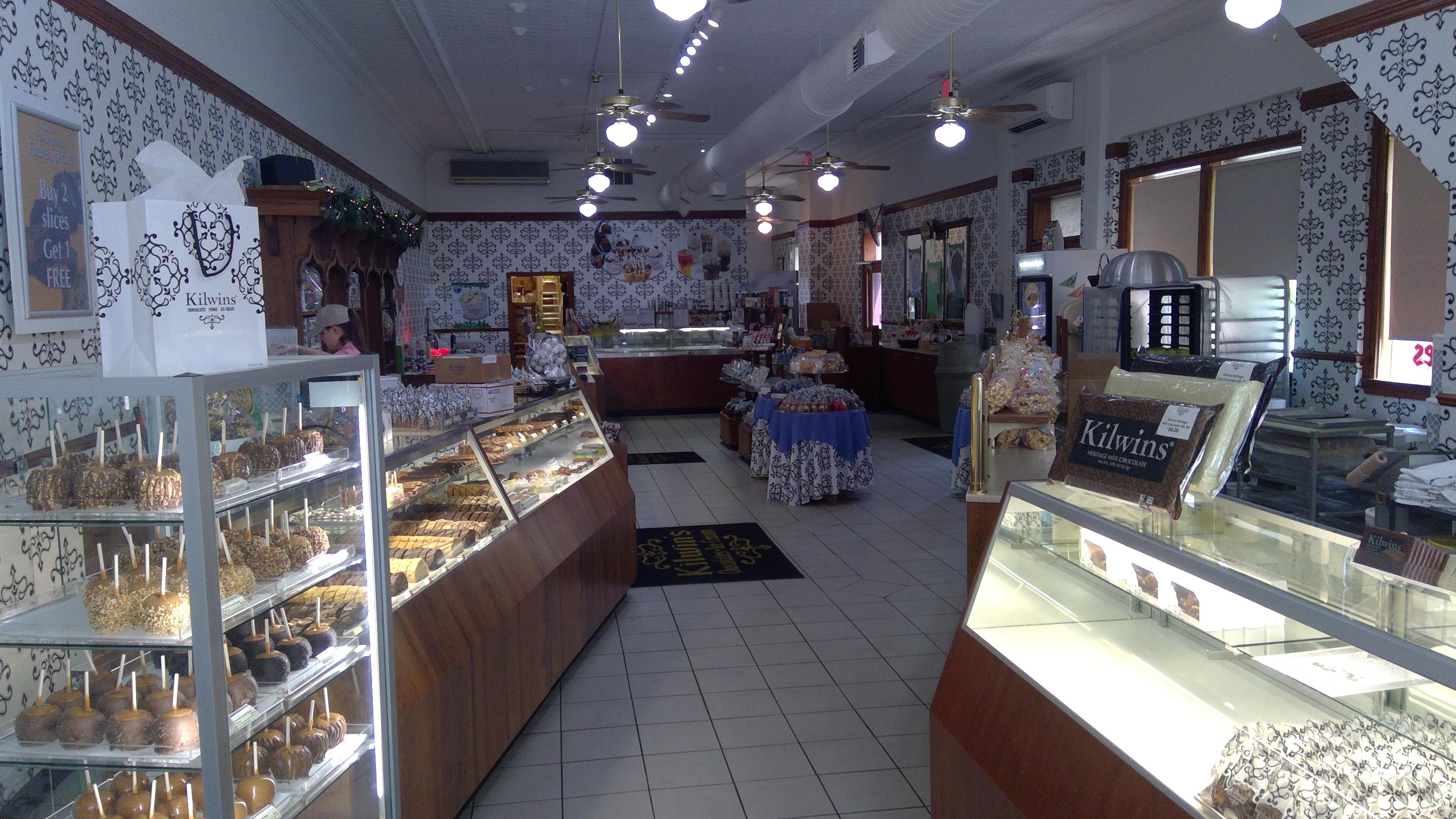 Interior photo of the Traverse City store
