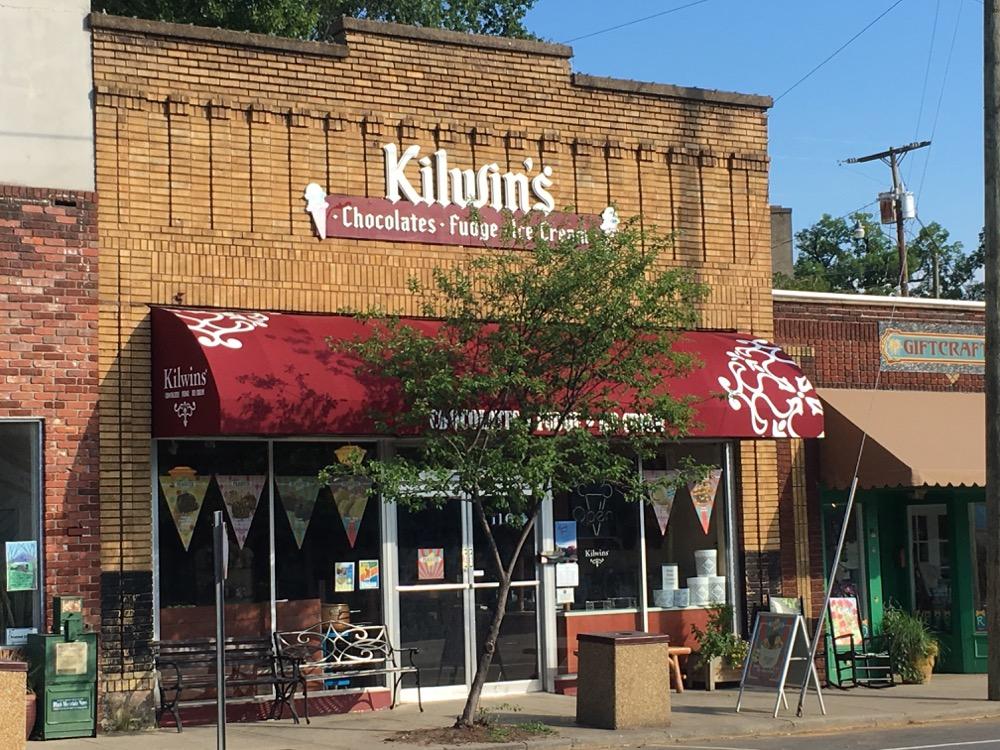 Exterior photo of Kilwins Black Mountain