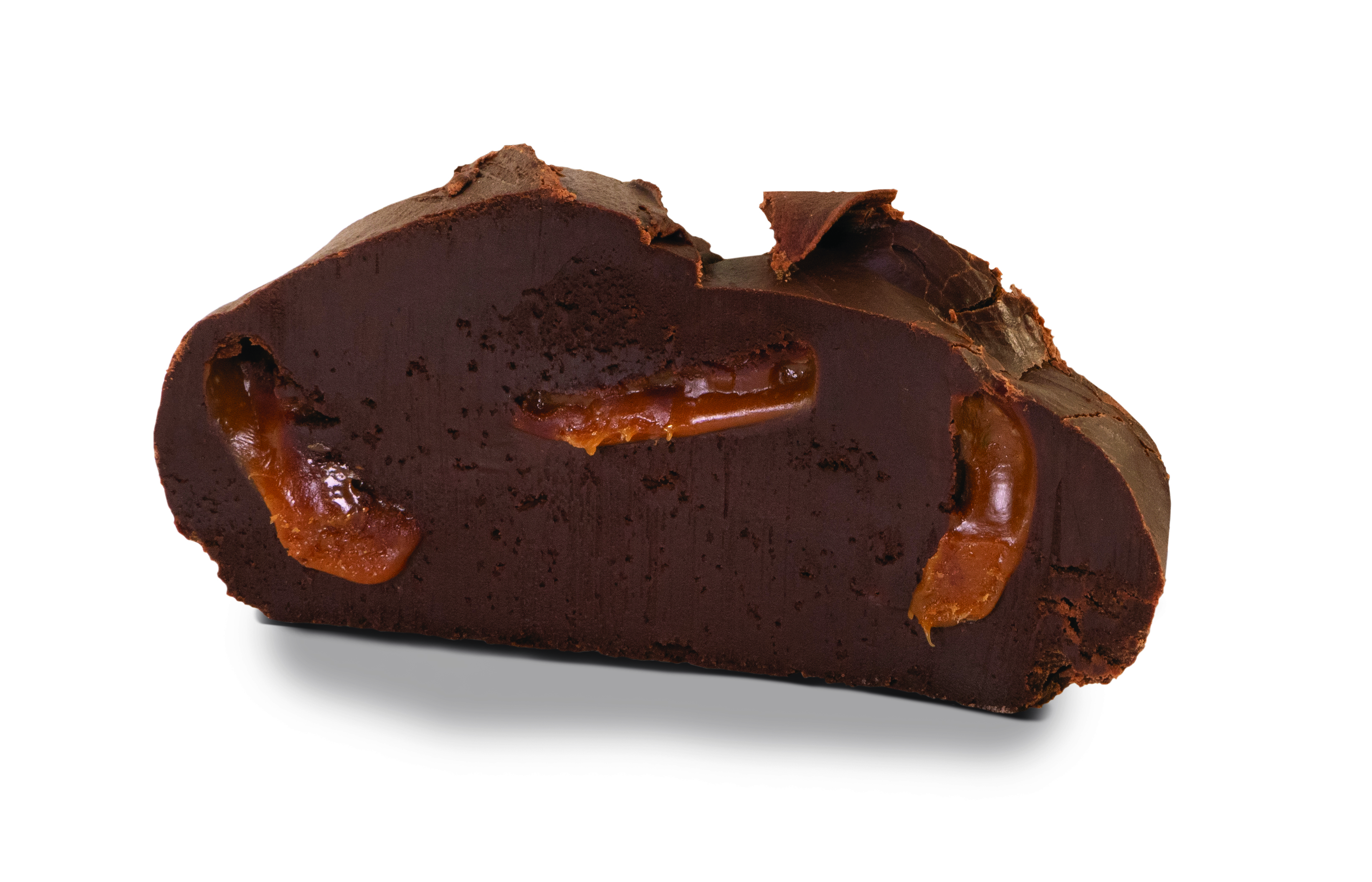 Triple Chocolate Caramel Fudge