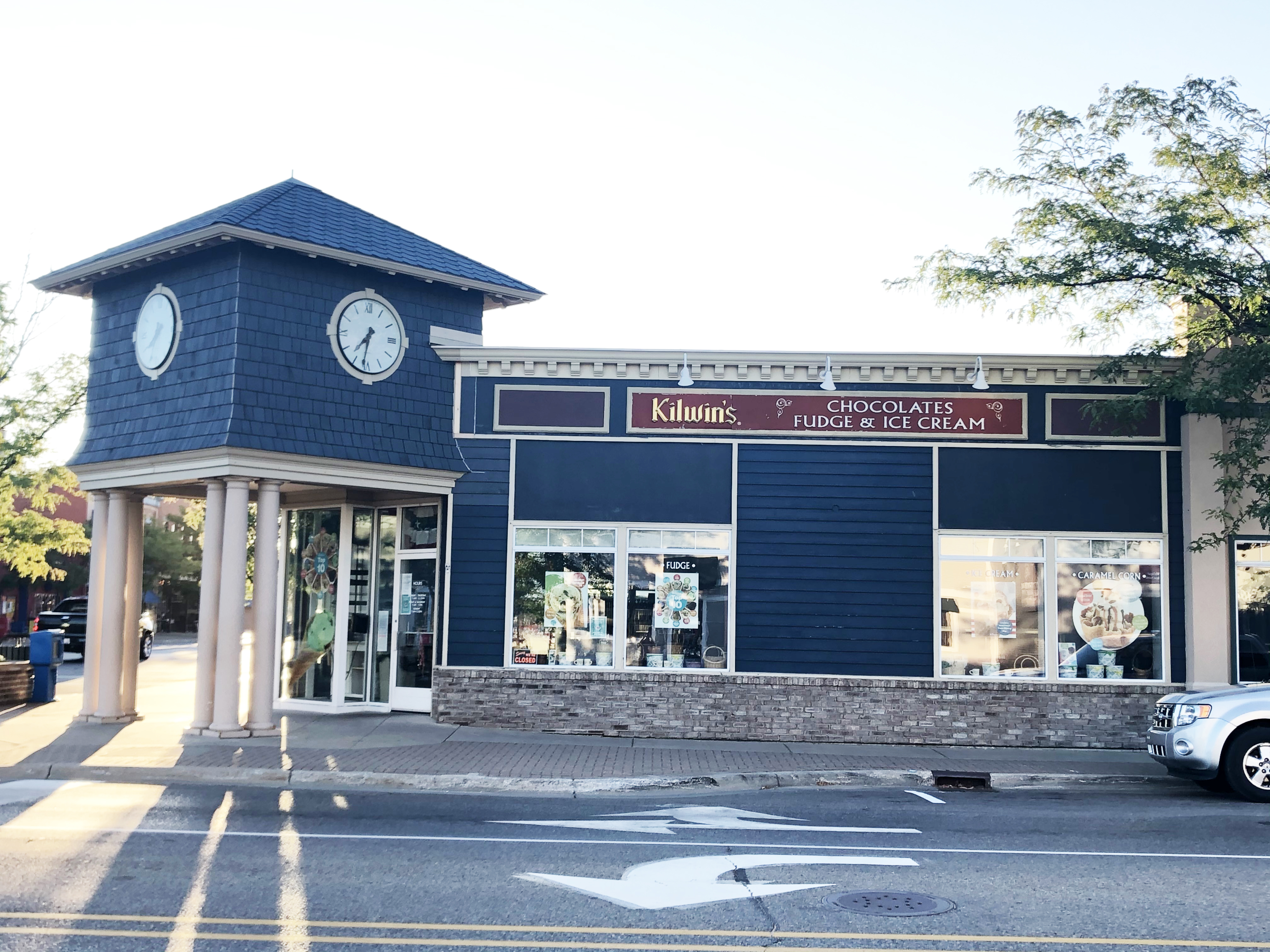 Exterior photo of the Boyne City store front