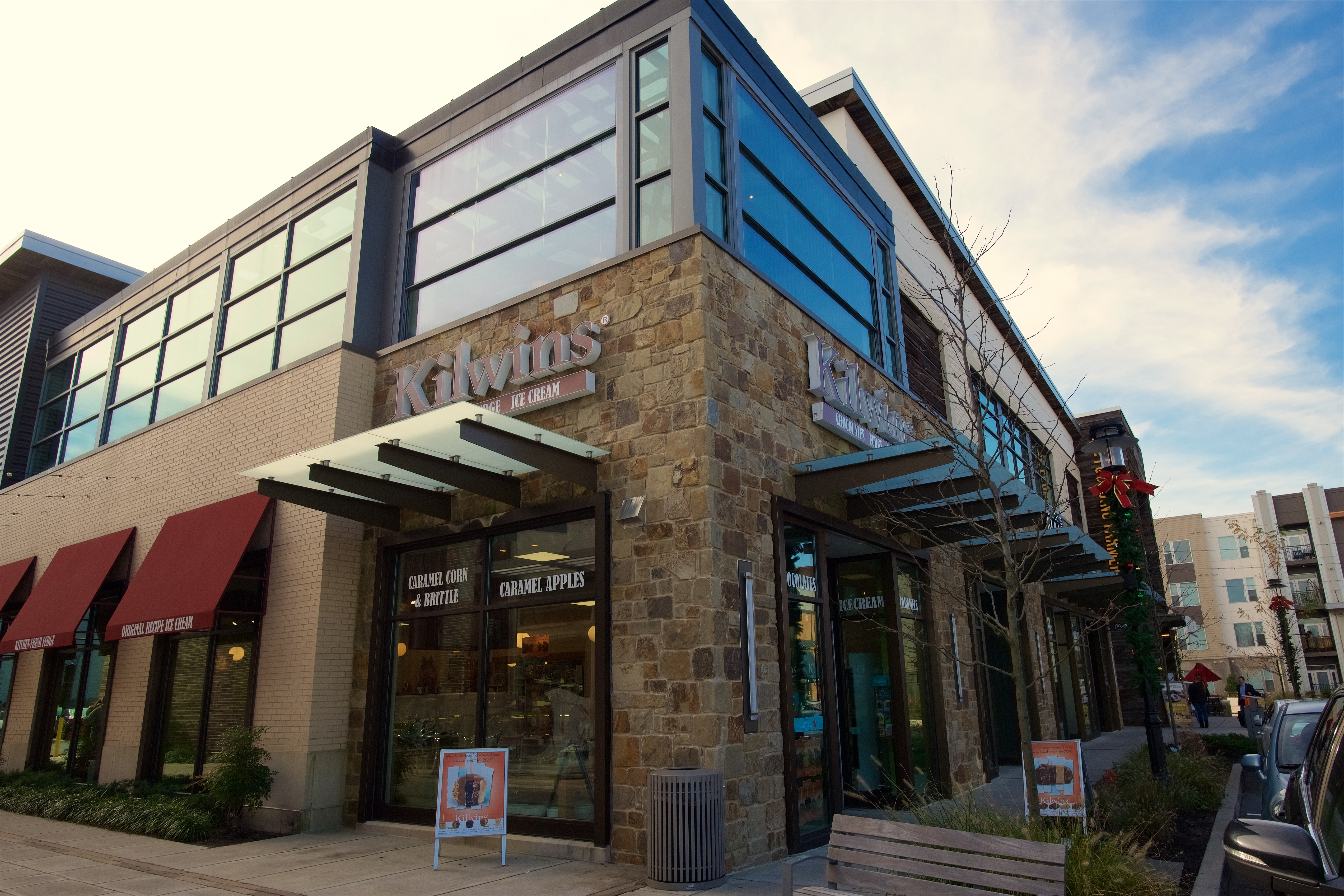 Exterior photo of Kilwins at King of Prussia
