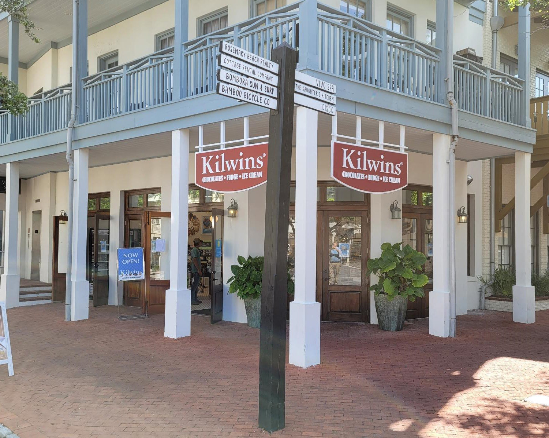 Kilwins Rosemary Beach storefront