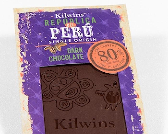 Kilwins Peruvian Dark Chocolate Bar