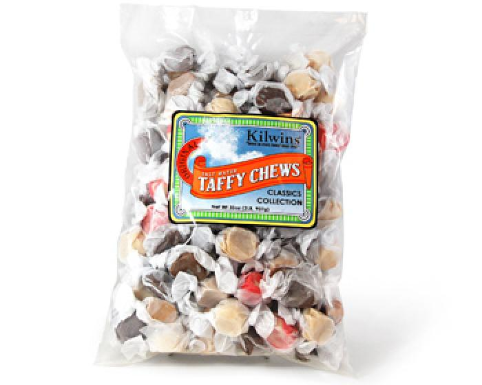 Bag of assorted salt water taffy chews