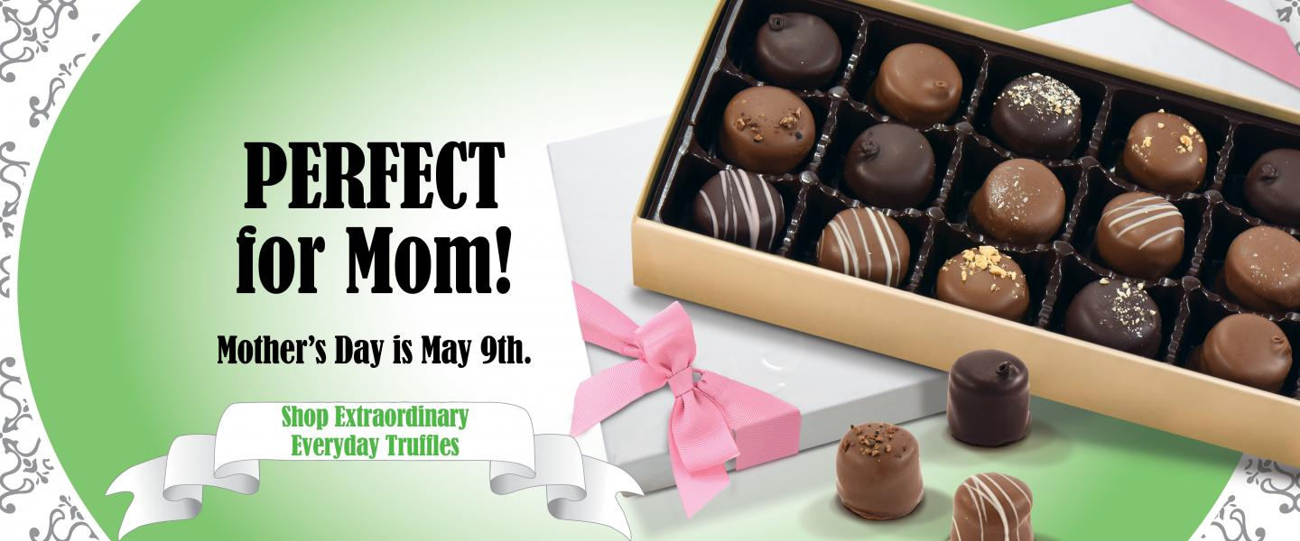 Mother's Day is May 9th!