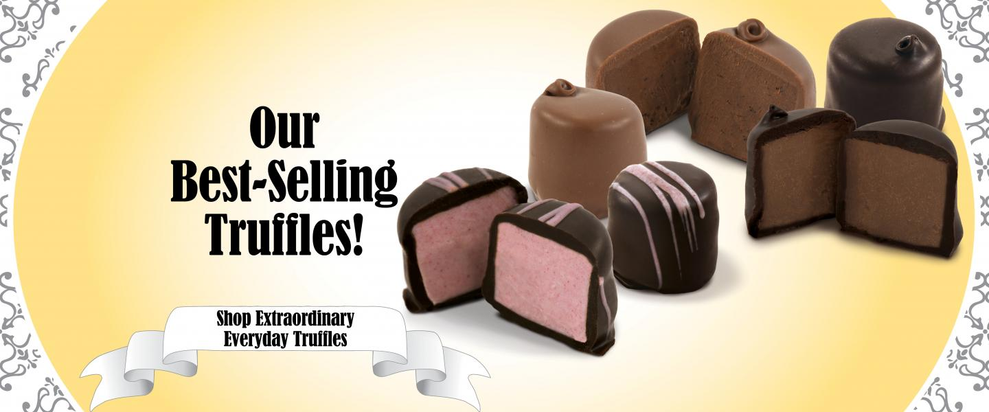Our Best-Selling Truffles!
