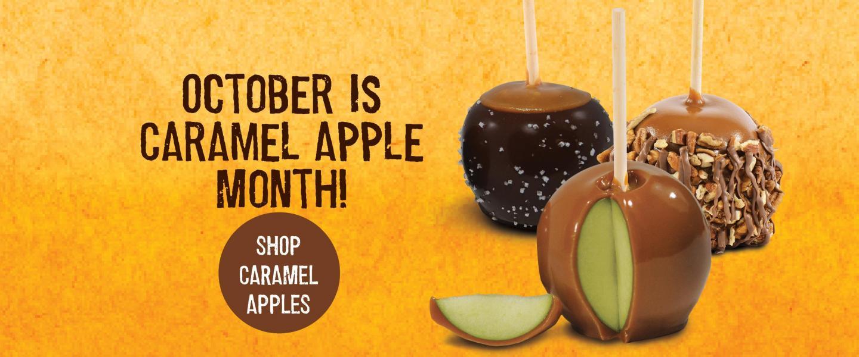 October Is National Caramel Apple Month!