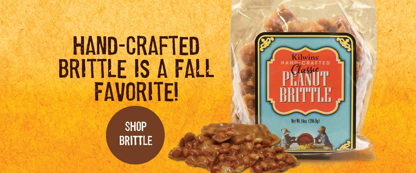 Hand-Crafted Brittle is a Fall Favorite!
