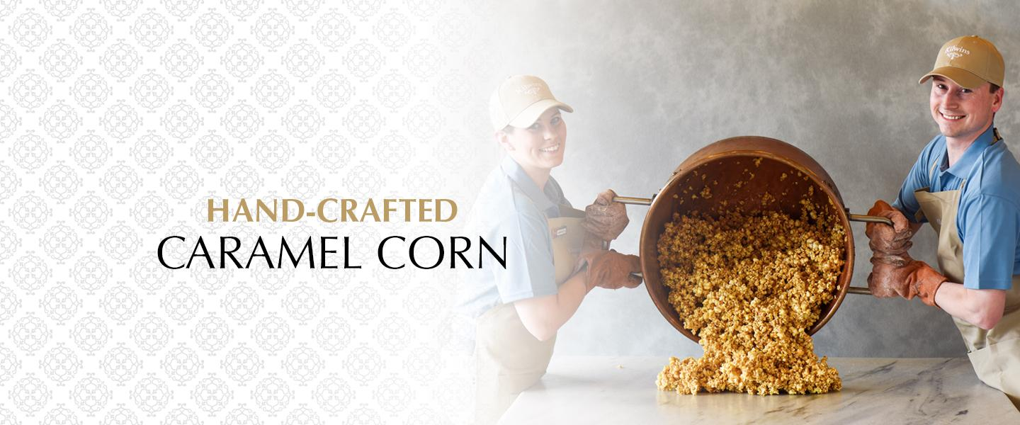 Hand Crafted Caramel Corn