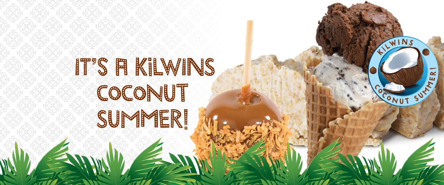 It's a Kilwins Coconut Summer!