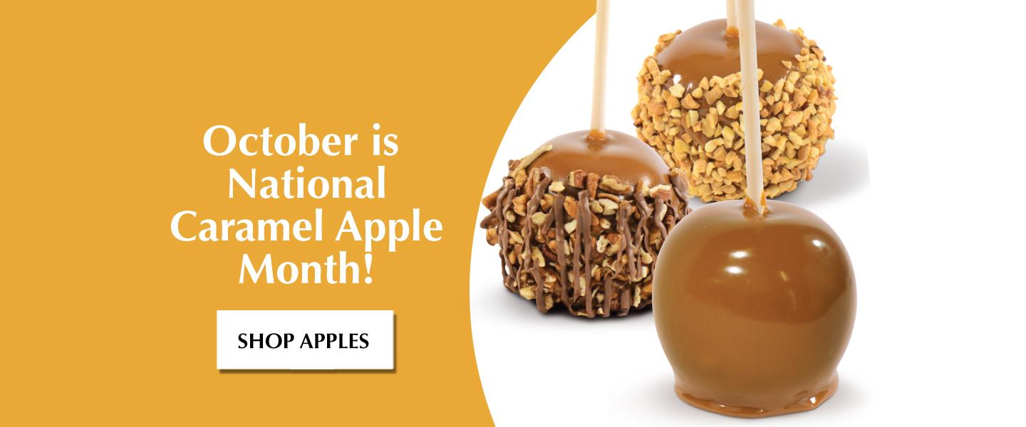 October Is National Caramel Apple Month!