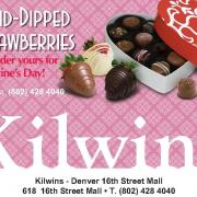 Now taking dipped strawberries pre-orders for Valentine's Day!
