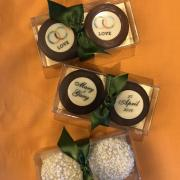 wedding favor, wedding, logo, event planning, catering, gift, gift box