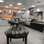 A picture of Kilwins products inside the store