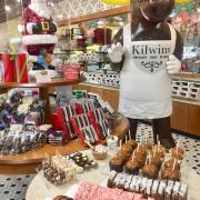 A picture of The Kilwins Moose and Christmas products
