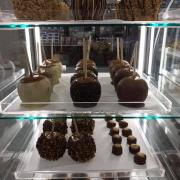A picture of the Caramel Apple display case