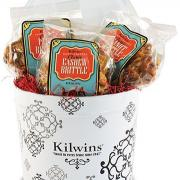 Photo of a Gift Tin with 3 bags of Brittle