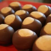 Freshly-made Buckeyes!