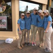 Photo of Kilwins Team members outside the store