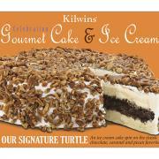 Kilwins Our Signature Turtle Gourmet Cake & Ice Cream