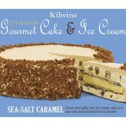 Kilwins Sea-Salt Caramel Gourmet Cake & Ice Cream