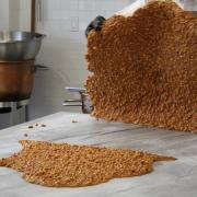 Picture of Peanut Brittle being prepared