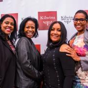 Photo of Kilwins Chicago-Michigan Ave. owner with friends at VIP event