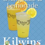 A graphic showing Kilwins Lemonade and Orangeade