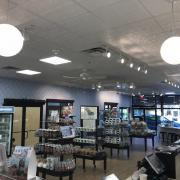 Interior picture of the store