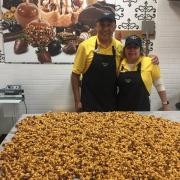 caramel corn downtown