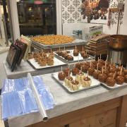 Caramel Apples In Downtown San Antonio
