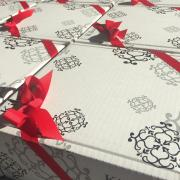 A picture of wrapped Gift Boxes