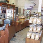 Photo of interior of Kilwins Fort Myers Beach, FL store with products on display