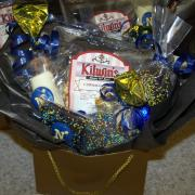 A basket of Kilwins treats
