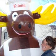 Close up picture of The Kilwins Moose