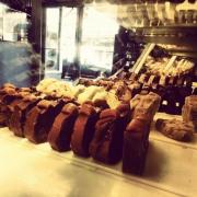 Photo of loaves of Fudge in Fudge Case