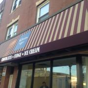 Picture of the Babylon store awning