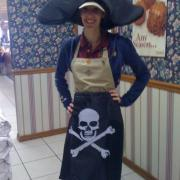 Photo of Kilwins Stuart, FL Team Member in pirate costume