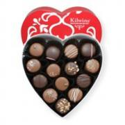 Picture of a Kilwins Valentine Day box of chocolates