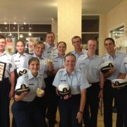 Picture of memes of the Coast Guard at Kilwins