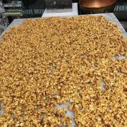 Picture of Kilwins Caramel Corn on the table