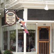 Close up photo of the store entrance