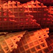 Warm and Sweet Waffle Cones