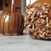 Close up photo of Caramel Apples